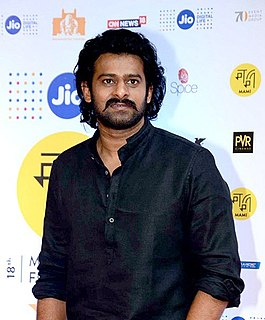 Prabhas Indian film actor