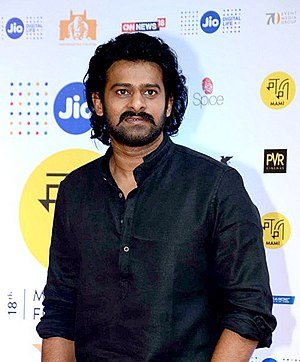 Baahubali 2: The Conclusion - Prabhas at the 18th Mumbai Film Festival in 2017