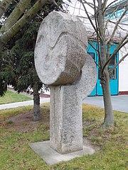 Sculpture in Türkova street