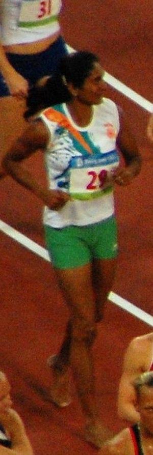 Pramila Aiyappa - Pramila in Heptathlon, Olympics 2008