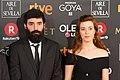 Premios Goya 2018 - Didac Palou y Ana Pfaff.jpg