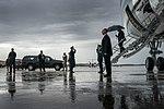 President Trump Arrives at Joint Base Andrews (46816302805).jpg