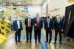 President Trump at the Whirlpool Corporation Manufacturing Plant (50209855523).jpg