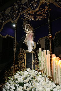 Procession of Silence in San Luis Potosi Annual Holy Week procession in Mexico
