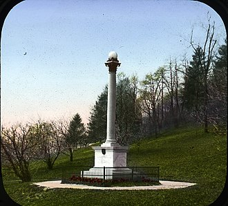 Maryland 400 - Monument in Prospect Park