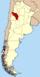 Lage der Provinz La Rioja