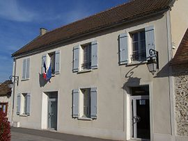 The town hall in Prunay-en-Yvelines
