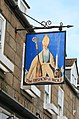 Pub Sign, Bishop and Wolf - Wolf side - geograph.org.uk - 822145.jpg