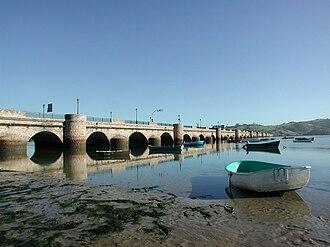 San Vicente de la Barquera - The Maza bridge at San Vicente de la Barquera