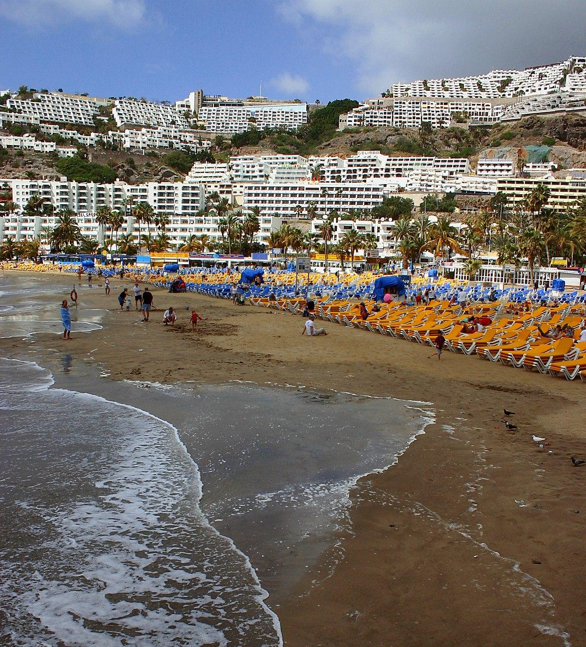 Puerto rico gran canaria wikipedia la enciclopedia libre - Isla de las palmas de gran canaria ...
