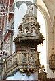 Pulpit Marienkirche Rostock.JPG