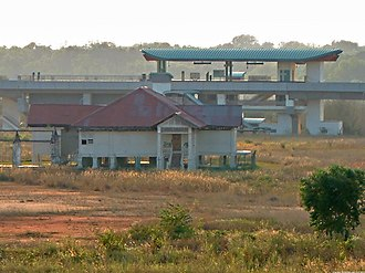 Matilda House - Matilda House in 2006, with Soo Teck LRT station in the background.