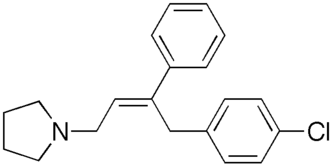 Pyrrobutamine - Image: Pyrrobutamine