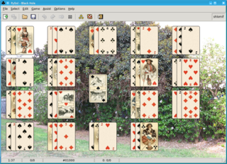 Black Hole (solitaire) solitaire game