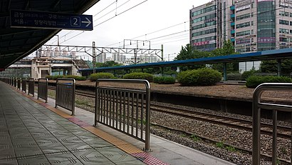 How to get to 화서역 with public transit - About the place