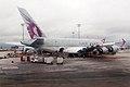 Qatar Airways, A7-APD, Airbus A380-861 (16269637630).jpg