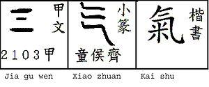 Qi - Image: Qi 3 forms