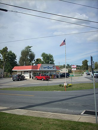 Quincy Township, Franklin County, Pennsylvania - The Twin Kiss in Quincy Township