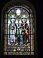Quinsac (Dordogne) église vitrail (4).JPG
