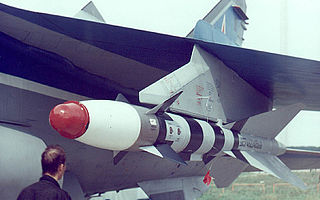 Air-to-air missile developed by the Soviet Union