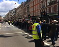 RA Summer Exhibition 2015, Varnishing Day, procession of artists on Piccadilly.jpg