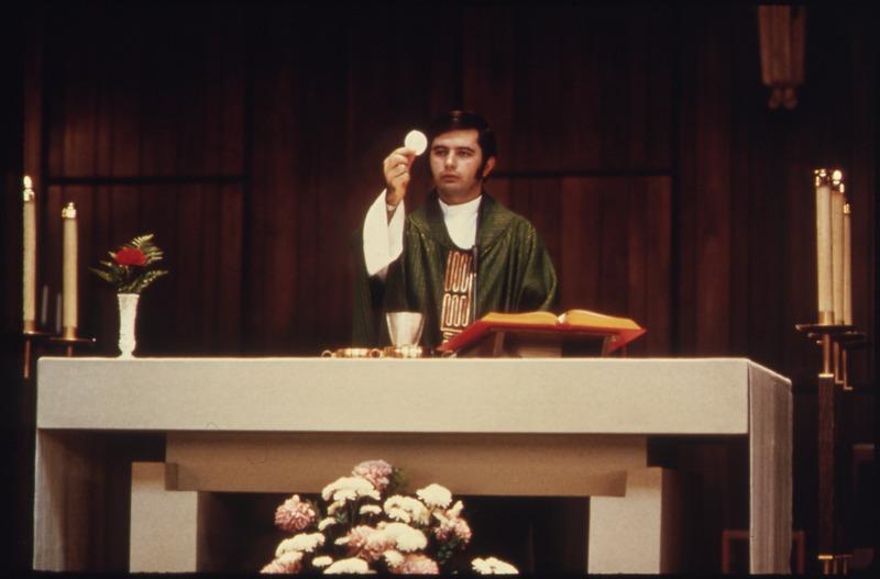 Priest & Communion