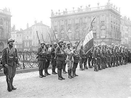 Review of the Marching Regiment of the Foreign Legion, RMLE at the end of November 1918 RMLE - 1918.jpg