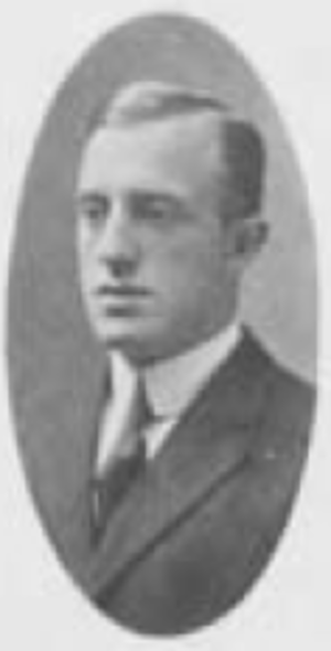 R. M. Brown - Brown pictured in Bugle 1909, VPI yearbook