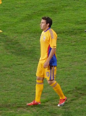 Adrian Cristea - Cristea playing for Romania