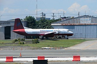 Interisland Airlines Defunct air charter company headquartered in the Philippines