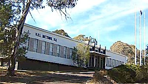 Returned and Services League of Australia - RSL National HQ, at 1 Constitution Avenue, Canberra, near the Australian Defence Force Russell Offices HQ