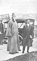Rabindranath Tagore meets Sudhindra Bose at the State University of Iowa, Iowa City detail, from- Sudhindra Bose - Fifteen Years in America (page 320 crop).jpg