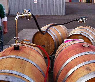 Racking - Racking red wine