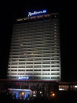 Kaip pateikti į Radisson Blu Hotel Lietuva viešuoju transportu - Apie vietovę
