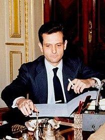Rafael Arias-Salgado en una reunión del Consejo de Ministros.jpg