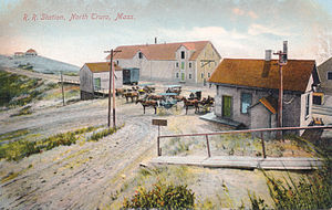 Railroad station, North Truro, Massachusetts - No. 6750.jpg
