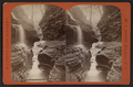 Rainbow falls and Triple cascade, Watkins Glen, by W. S. Jones.png