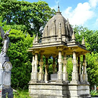 Arnos Vale Cemetery - Tomb of Raja Rammohun Roy