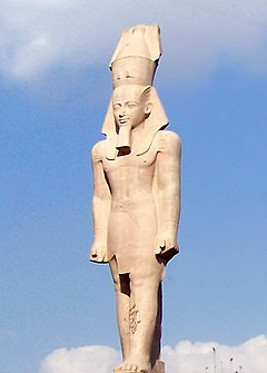 Κολοσσιαίο άγαλμα του Ραμσή Β΄ - Βικιπαίδεια