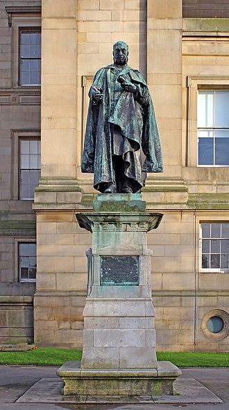 William Rathbone VI - Statue of William Rathbone in St John's Gardens, Liverpool