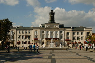 Płock Place in Masovian, Poland