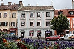 László Rátz - Birthplace of László Rátz in Sopron, Hungary.