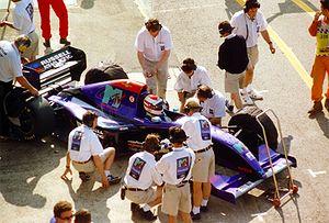 Roland Ratzenberger - Ratzenberger, prior to his fatal crash at the 1994 San Marino Grand Prix