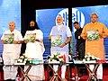 Ravi Shankar launches Sakshibhaav written by Narendra Modi.jpg
