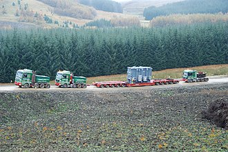 Ballast tractor - Image: Rawcliffe Ballasted Outfit