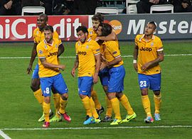 Real Madrid vs Juventus, 24 October 2013 Champions League B 04 (cropped).JPG