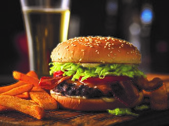 Red Robin - Red Robin's Gourmet Bacon Cheeseburger