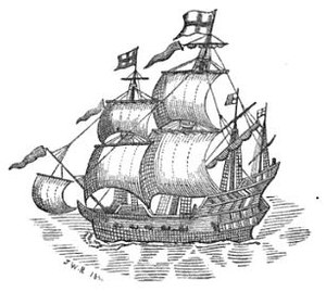 East India Company - ''Red Dragon'' fought the Portuguese at the Battle of Swally in 1612, and made several voyages to the East Indies.