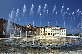 Palace of Venaria - View of the Palace.