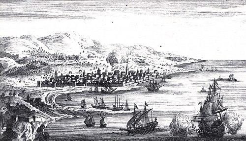 Reggio Calabria Incisione Regno di Napoli